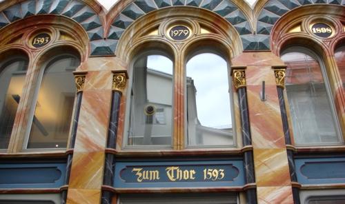 Zum Thor 1593, Storchengasse 13, Zürich