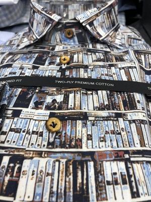 Hemd für Leseratten