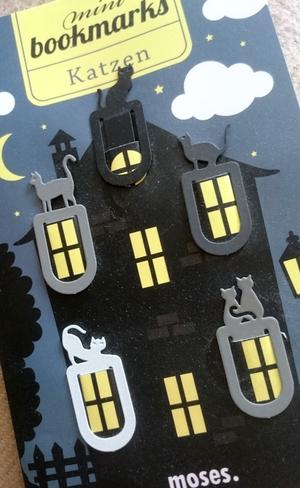 Lesezeichen in Katzenform
