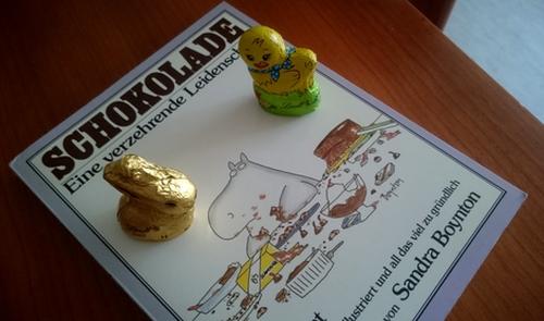 Buch über Schokolade