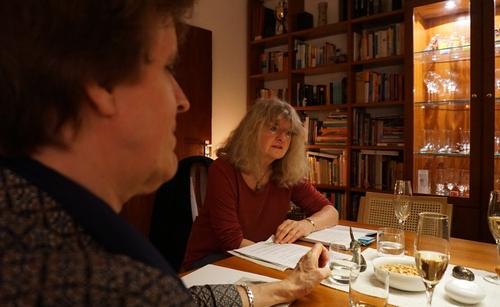 Marion Tauschwitz bei der Lesung
