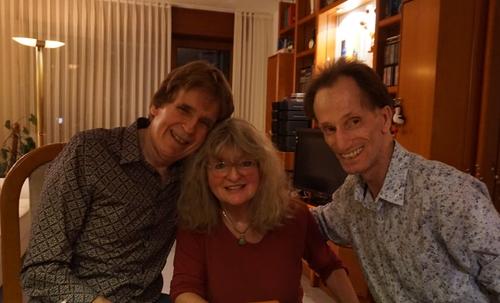 Dieter und ich mit Marion Tauschwitz