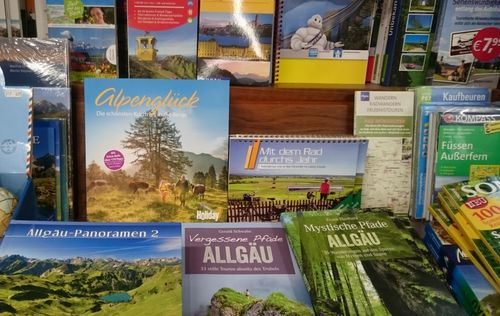 Reisebücher übers Allgäu