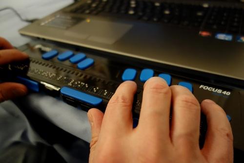 Focus-Blue-Braillezeile von ProTak