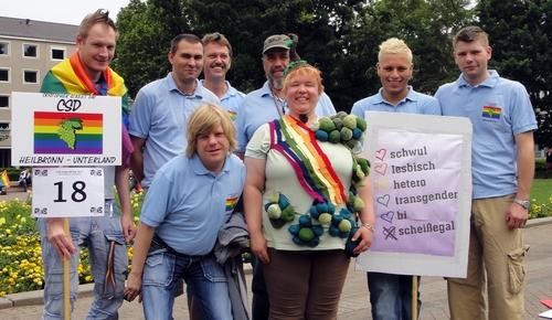 Gruppe vom CSD Heilbronn