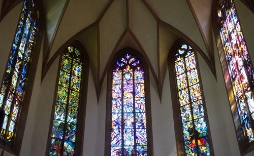Fenster der Apsis