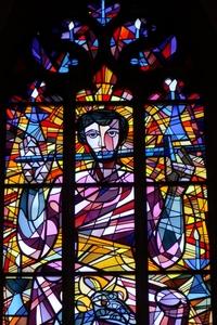 Kirchenfenster in der Apsis