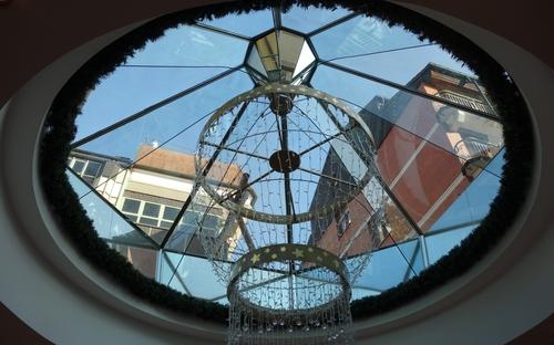Dachfenster im DHC Heidelberg