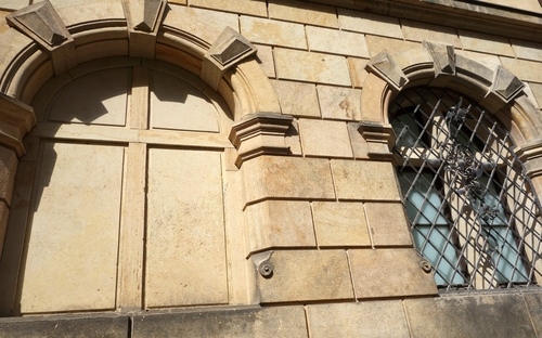 Fenster des Stadtschlosses