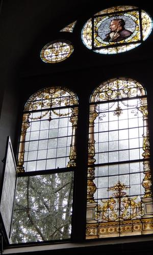 Kirchenfenster der Christuskirche Heidelberg