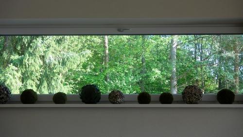 Fenster im Restaurant