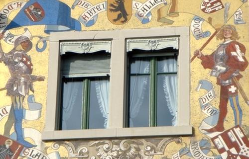 Fenster aus der Schweiz