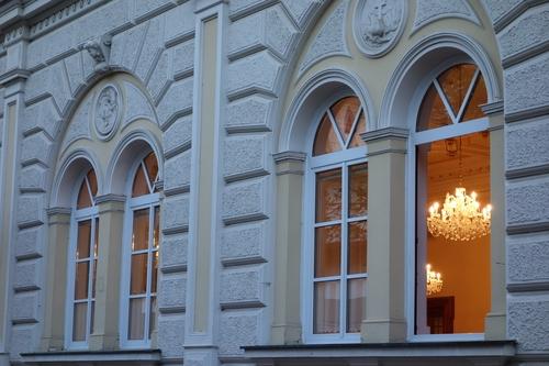 Fenster des Sebastianeums