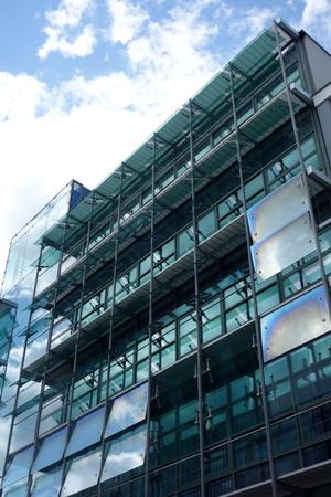 Fensterfront in Karlsruhe