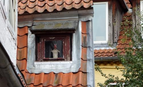 Fenster in Lübeck