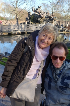Christine und ich