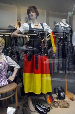 Tracht im Deutschlandlook