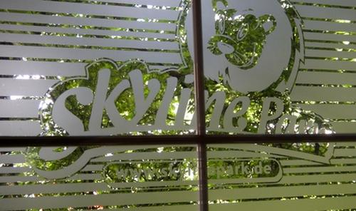 Fenster im Skylinepark