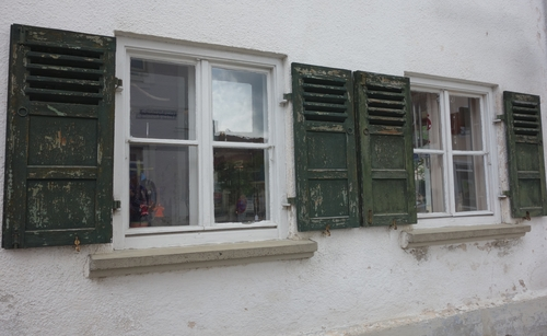 Fenster in Türkheim
