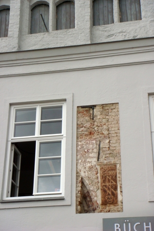 Fenster in Wismar