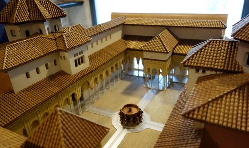 Modell der Alhambra
