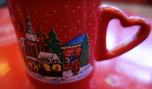 Tasse vom Weihnachtsmarkt