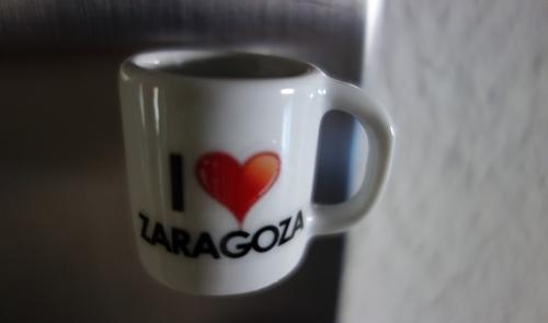 Tasse mit Herz aus Zaragoza