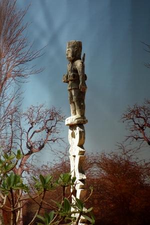 Holzfigur aus Madagaskar