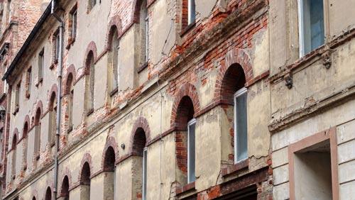 Marodes Wohnhaus in Altenburg