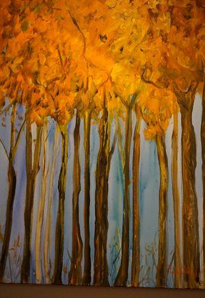 Herbstgemälde von Pieter Sohl