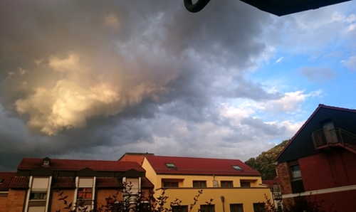 Imposante Wolke