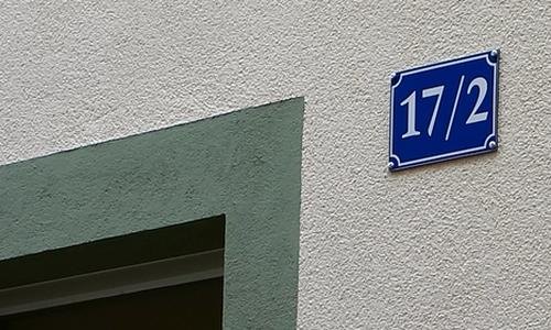 Hausnummer 17/2
