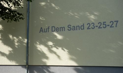 Hausnummer in Käfertal