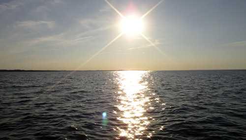Sonne über der Wohlenberger Wiek