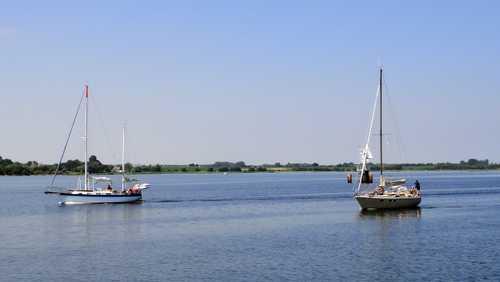 Segler in der Wismarer Bucht