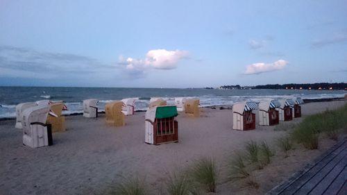 Die letzten Strandkörbe