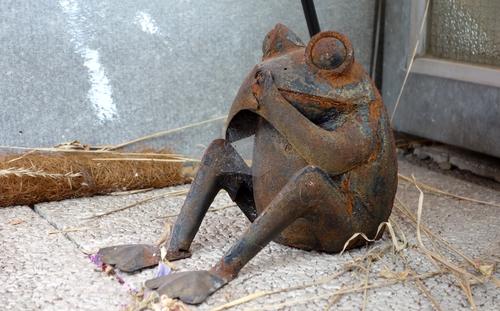 Rostiger Frosch