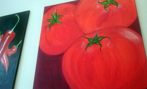 Bild von Tomaten