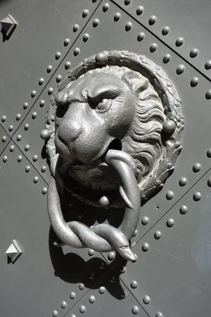Türklopfer am Dresdner Schloss