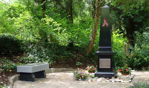 Denkmal auf dem Bergfriedhof