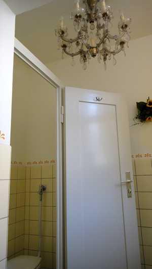 Toilettentür