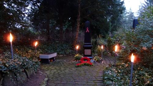 Gedenkstätte der AIDS-Hilfe Heidelberg
