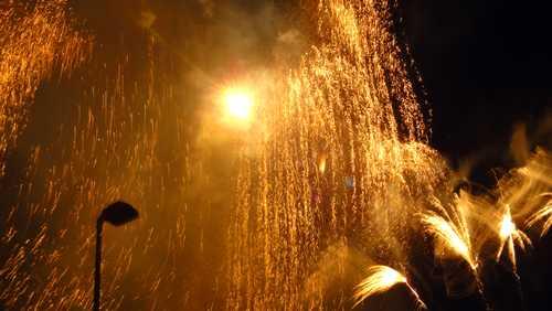 Feuerwerk am 01.09.12