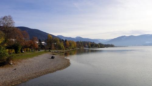 Blick von Gmund über den See