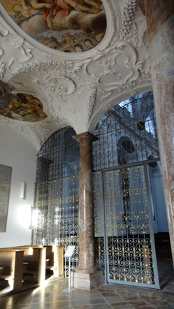 Eingang zur Klosterkirche