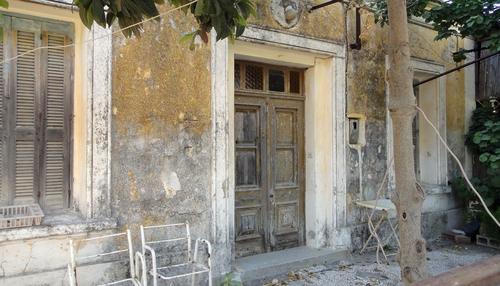 Marodes  Haus auf Rhodos