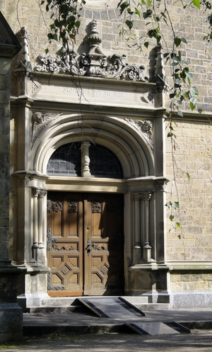 Seiteneingang zur Christuskirche