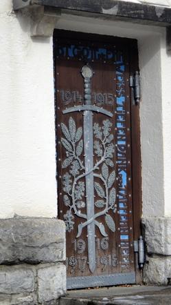 Seitentür