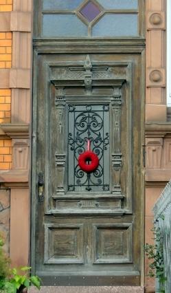 Heidelberger Haustür