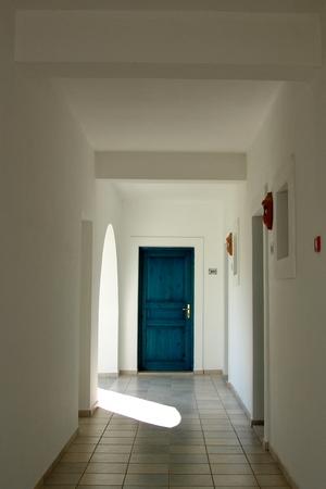 Zimmertür auf Evia